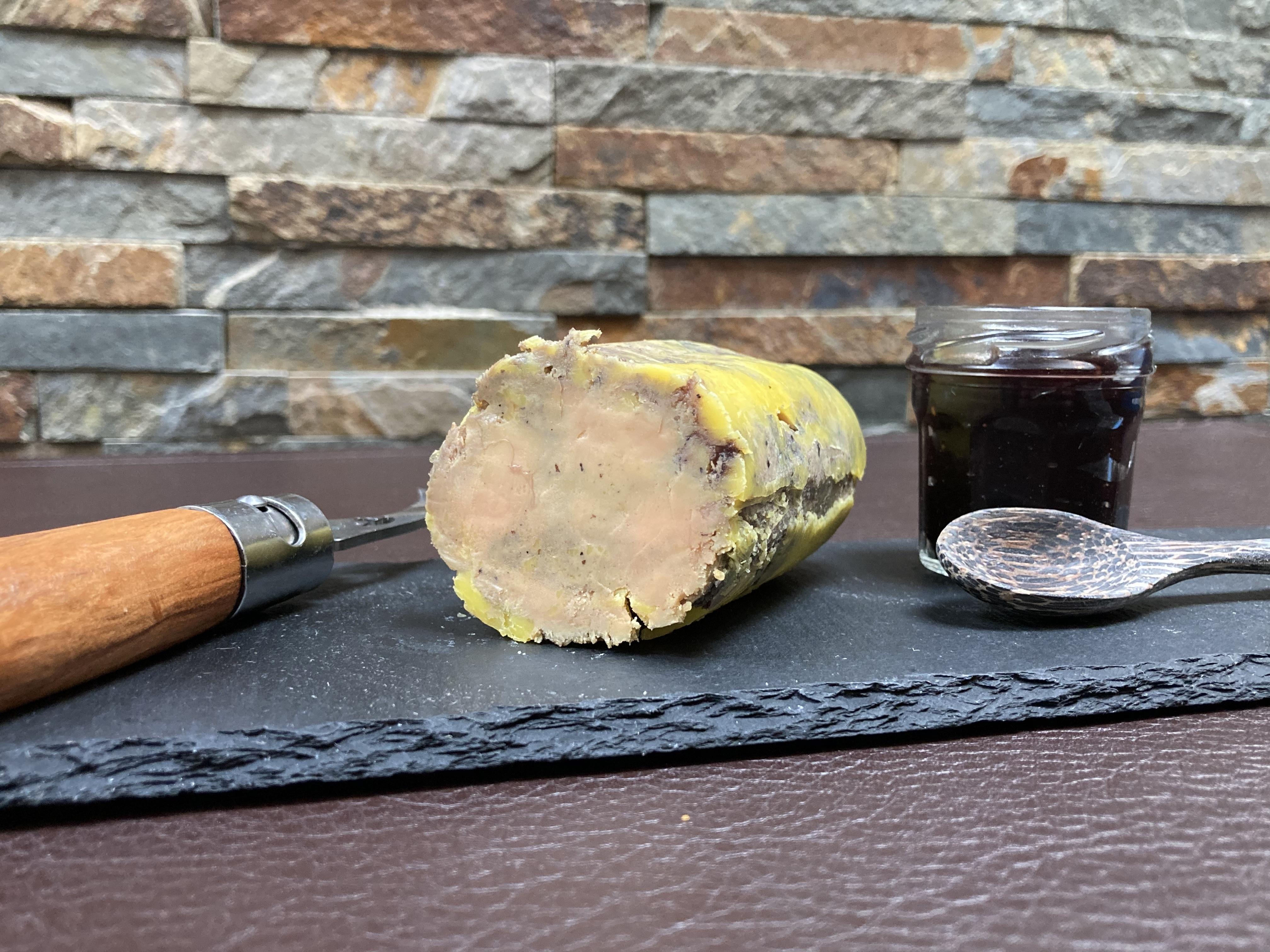 Foie gras au sureau